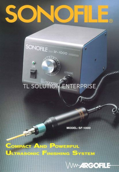 Compact and Powerful Ultrasonic Finishing System Sonofile Japan Argofile UHT Xebec Sonofile Daiwa Rabin Johor Bahru (JB), Malaysia Supplier, Suppliers, Supply, Supplies | TL Solution Enterprise