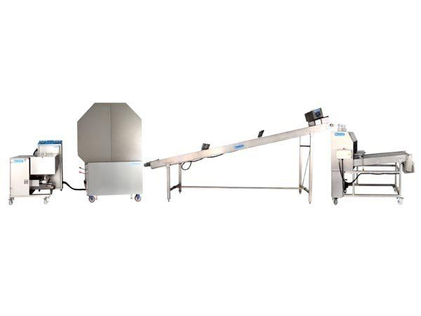 Auto Spring Roll, Samosa Pastry Sheet Making Machine (Double Baking Drum Type)(HM-660) Prepared Food Food Production Machinery Malaysia, Selangor, Kuala Lumpur (KL) Manufacturer, Supplier, Supply, Supplies | MIDECS MACHINERY TRADING