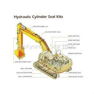 Excavator Seal Kit Excavator Oil Seal, Seal Kit Malaysia, Selangor, Kuala Lumpur (KL) Distributor, Dealer, Supplier, Supply | Polyseals Sdn Bhd