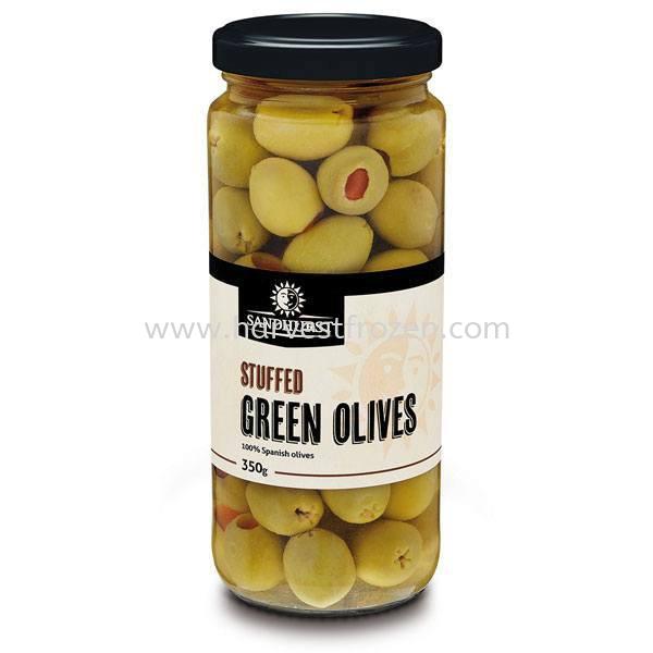 Stuffed Green Olives - RM9.00 GROCERY JB, Johor Bahru, Malaysia Supply & Wholesale | Harvest Frozen Food Sdn. Bhd.