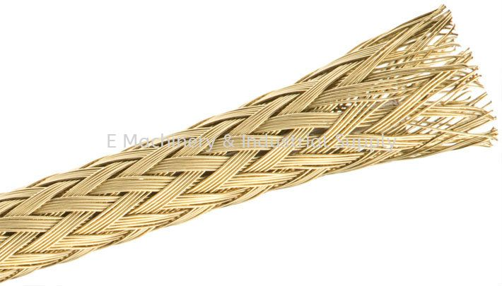 Tinned Copper Braided Sleeving Special Expandable Sleeving Selangor, Malaysia, Kuala Lumpur (KL) Supplier, Suppliers, Supply, Supplies | E Machinery & Industrial Supply