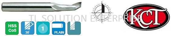 1 Flute End Mill - Extra Length End Mill Burr Saw Johor Bahru (JB), Malaysia Supplier, Suppliers, Supply, Supplies | TL Solution Enterprise