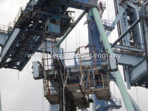 PTP Port Dismantled Quay Crane / Container Crane  Johor Bahru (JB), Malaysia, Selangor, Kuala Lumpur (KL), Shah Alam Supplier, Supply, Supplies, Service | TF Engineering Services Sdn Bhd