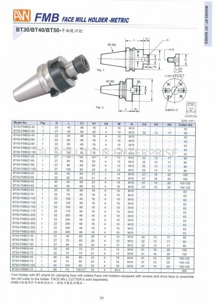 Face Mill Holder 1 Ann Way-Machine Tools-Holder-Collet Tooling Johor Bahru (JB), Malaysia Supplier, Suppliers, Supply, Supplies   TL Solution Enterprise