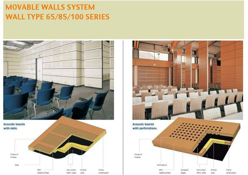 Wall Type 65/85/100 Series Acoustic Movable Wall Acoustic Solution Selangor, Kuala Lumpur (KL), Malaysia Supplier, Supply, Supplies, Manufacturer | Progresif Kukuh Sdn Bhd