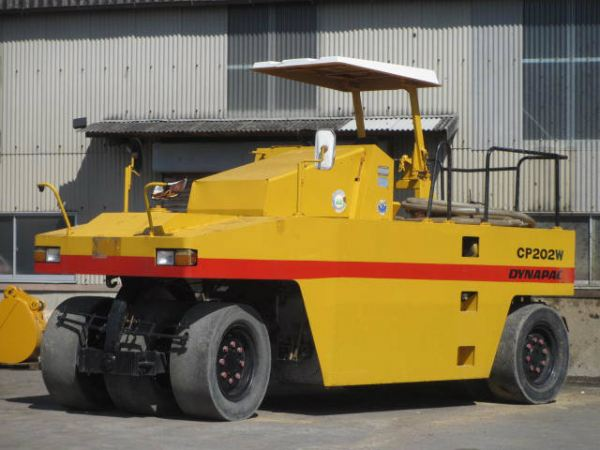 Hitachi Dynapac CP202W Hitachi Dynapac CP202W 7 Tyres Tyre Roller Johor, Malaysia, Kulai Supplier, Supply, Rental, Service | MS Road Works Sdn Bhd