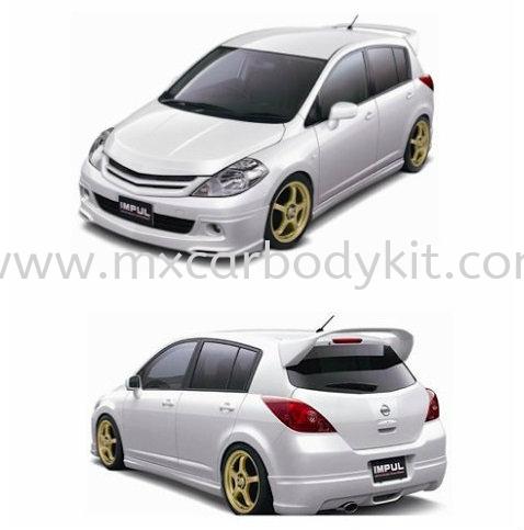 NISSAN LATIO HATCHBACK 2012 IMPUL BODY KIT + SPOILER LATIO HATHBACK 2012 (NON-FACELIFT) NISSAN  Johor, Malaysia, Johor Bahru (JB), Masai. Supplier, Suppliers, Supply, Supplies | MX Car Body Kit