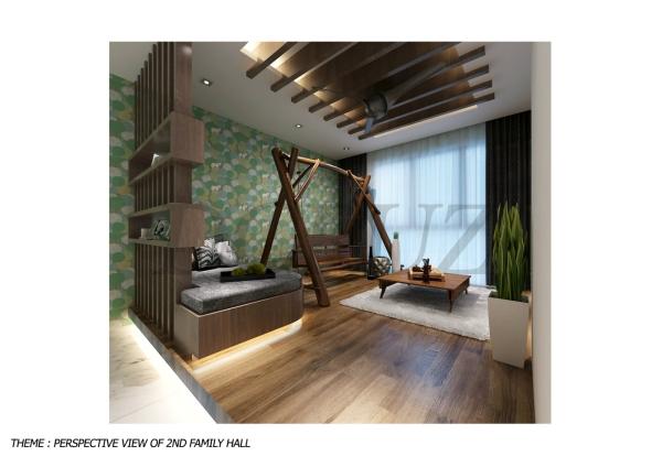 Family Area Design Johor Bahru (JB), Tampoi Indah, Malaysia Design, Renovation, Construction | Dcruz Interior Design Sdn Bhd