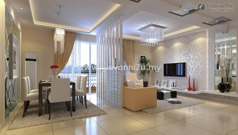 Display Divide Design Penang, Pulau Pinang, Malaysia. Service, Design, Renovation | P2D Studio