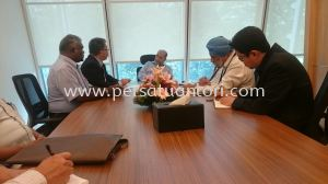 Meeting With YBhg Tan Sri Dato' Seri Dr. Syed Hamid Syed Jaafar Albar