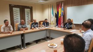 Meeting With Dato' Valluvan New Pengarah Penguatkuasa JPJ