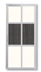 SD 7009 Slide / Swing Doors Malaysia Johor Bahru JB, Singapore Supplier, Installation | S & K Solid Wood Doors