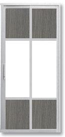 SD 7087 Slide / Swing Doors Malaysia Johor Bahru JB, Singapore Supplier, Installation | S & K Solid Wood Doors