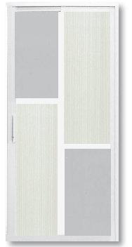 SD 7007 Slide / Swing Doors Malaysia Johor Bahru JB, Singapore Supplier, Installation | S & K Solid Wood Doors