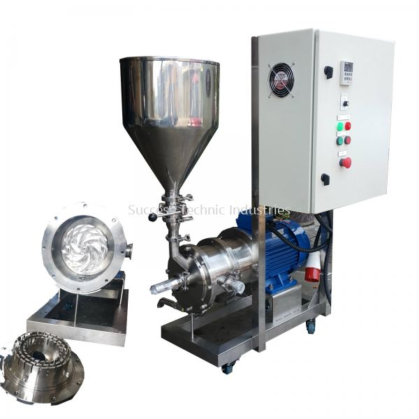 VT300-10PW 11kW DYNA FLYERS HEALTHY FOOD PASTE INLINE HOMOGENIZER-ORDER CODE:77654200 VT300-H Powder Suction Horizontal Inline Homogenizer  Seri Kembangan, Selangor, Malaysia Fabrication Supplier Supply Manufacturer | Success Technic Industries