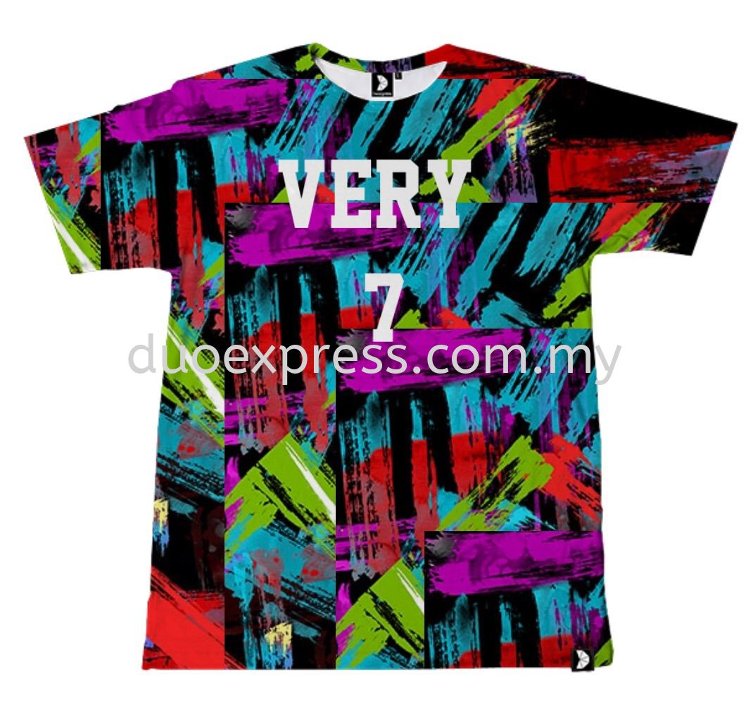 Dye Sublimation T- Shirts : Customize