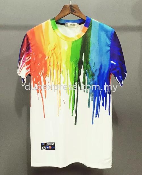 Dye Sublimation T- Shirts : Customize