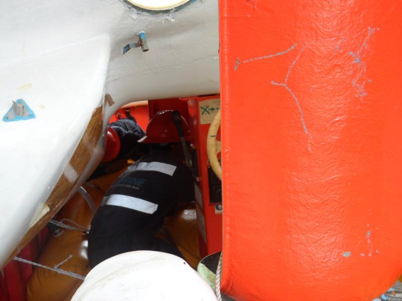 Lifeboat Davit - Dynamic Winch Brake Test (1.1) Load Test Johor Bahru (JB), Johor, Malaysia Service, Inspections | Boat Davit Sdn Bhd