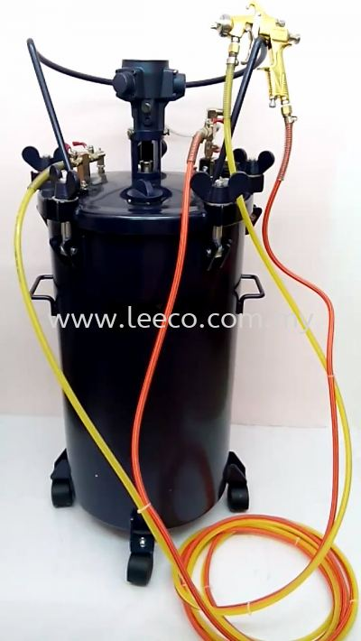 Paint suction spray pressure tank 80L