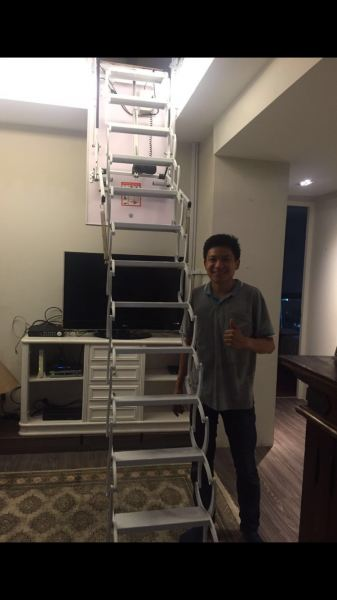Automatic Ladder Singapore Supplier, Supply, Supplies, Installation | TMA Technology System Pte Ltd