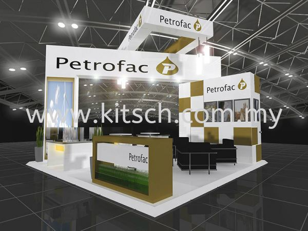 Petrofac Oil & Gas Exhibition Exhibition Kuala Lumpur (KL), Selangor, Malaysia, Kepong Contractor, Designer, Service, Rental | Kitsch Interior Sdn Bhd