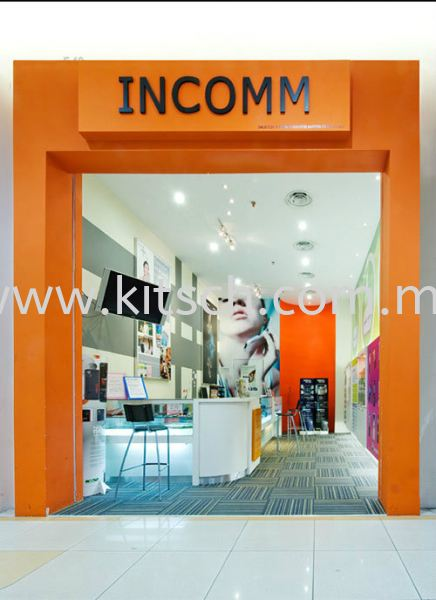 Incomm Commercial Interior Design Kuala Lumpur (KL), Selangor, Malaysia, Kepong Contractor, Designer, Service, Rental | Kitsch Interior Sdn Bhd