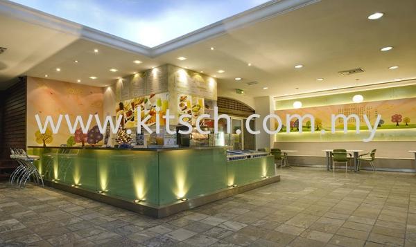 Mines Teh Tarik Cafe Commercial Interior Design Kuala Lumpur (KL), Selangor, Malaysia, Kepong Contractor, Designer, Service, Rental | Kitsch Interior Sdn Bhd