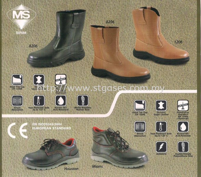 safetyking shoes Safety Products Kuala Lumpur (KL), Malaysia, Selangor Supplier, Suppliers, Supply, Supplies | ST Gases Trading Sdn Bhd