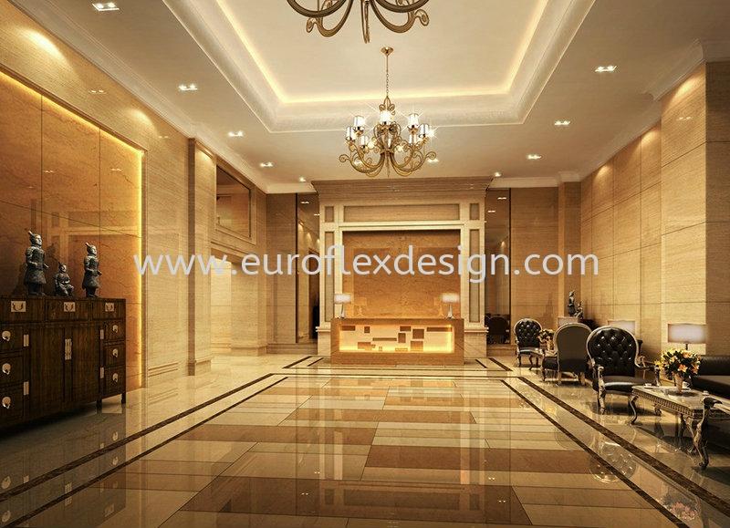 Foyer Design Interior Design/Renovation Works Johor Bahru (JB), Bukit Indah Service, Design, Renovation | Euroflex Design And Construction Work