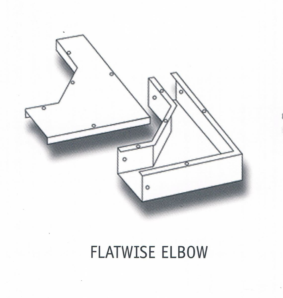 FLATWISE ELBOW Cable Trunking Cable Support Systems Johor Bahru (JB), Johor, Ulu Tiram, Malaysia Supplier, Suppliers, Supply, Supplies | Intech Electric Sdn Bhd