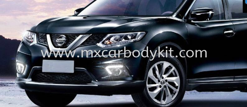 NISSAN X-TRAIL 2015 FOG LAMP COVER WITH LED X-TRAIL 2015 NISSAN  Johor, Malaysia, Johor Bahru (JB), Masai. Supplier, Suppliers, Supply, Supplies | MX Car Body Kit