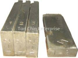 Alloy Dies for Pipe Thread Machine Spare Parts Machine and Spare Parts Penang, Malaysia Supplier, Suppliers, Supply, Supplies | Tan Chin Enterprise