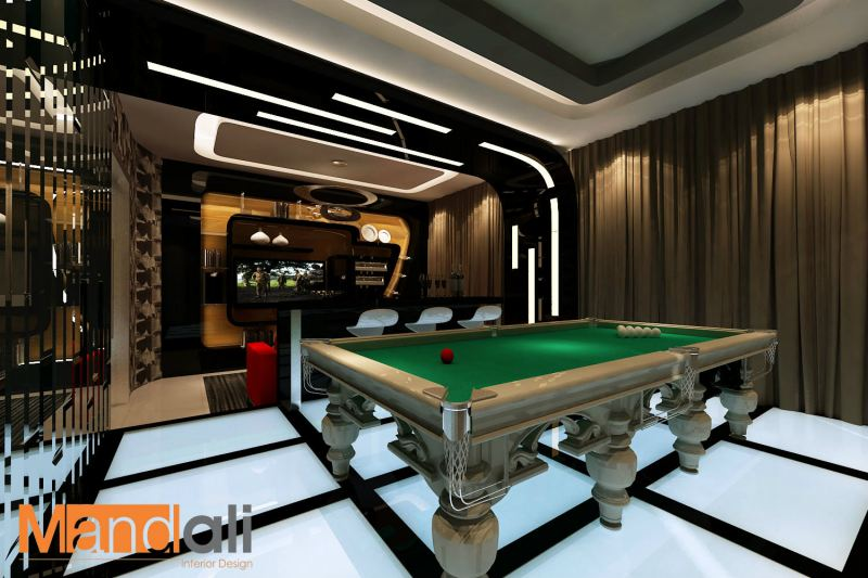 Entertainment Hall Design Gaya Entertainment Room Design Johor Bahru, JB, Ulu Tiram Design | Mandali Concept Sdn Bhd