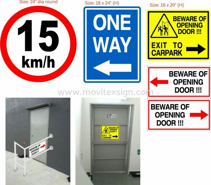 safety Signboard n Office direction signage  Design Johor Bahru (JB), Johor, Malaysia. Design, Supplier, Manufacturers, Suppliers | M-Movitexsign Advertising Art & Print Sdn Bhd