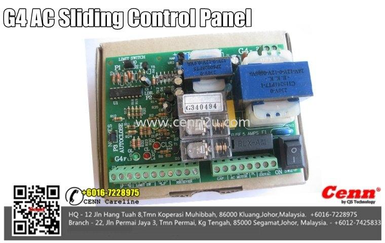 G4 AC Sliding Control Panel