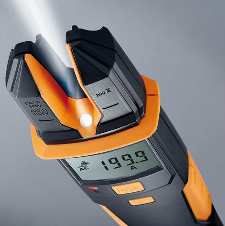 Testo 755-2 - Current / Voltage Meter with 200 A AC, 1000 V AC/DC, Continuity, and Phase Rotation Te