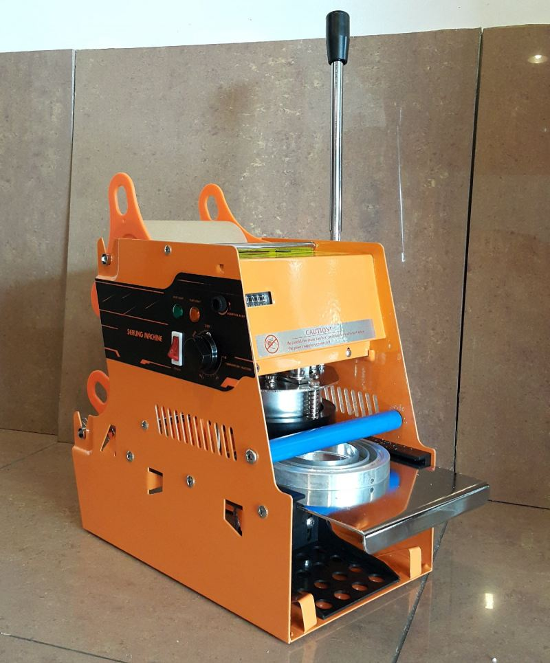 Manual Cup Sealing Machine with Counter ID31972