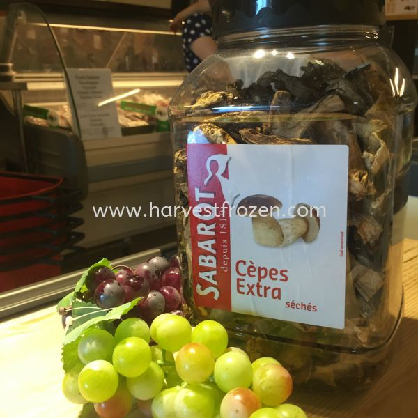 Dried Cepes 500g GROCERY JB, Johor Bahru, Malaysia Supply & Wholesale | Harvest Frozen Food Sdn. Bhd.