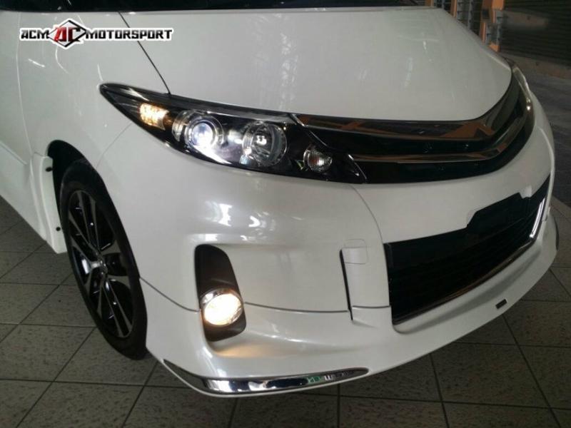 Toyota estima 2012 modellista bodykit  Estima 2012 Toyota Balakong, Selangor, Kuala Lumpur, KL, Malaysia. Body Kits, Accessories, Supplier, Supply | ACM Motorsport
