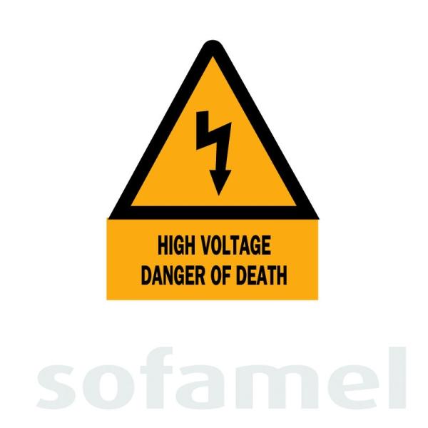 High Voltage Signs and Beacons Lockout & Tagout (LOTO) Malaysia, Johor Bahru (JB), Kuala Lumpur (KL), Penang, Singapore, Selangor Supplier, Suppliers, Supply, Supplies | Saturn Pyro Sdn Bhd