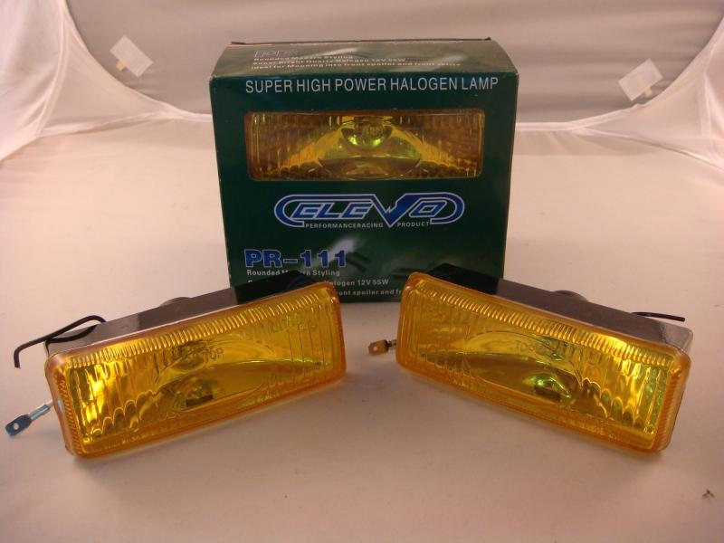 Pura PR-111 Fog Lamp (Yellow) (S/N: 001383) Fog Lamp / Spotlight Automotive Lightning JB Johor Bahru Malaysia Supply Suppliers  | C & C Auto Supplies (M) Sdn. Bhd.