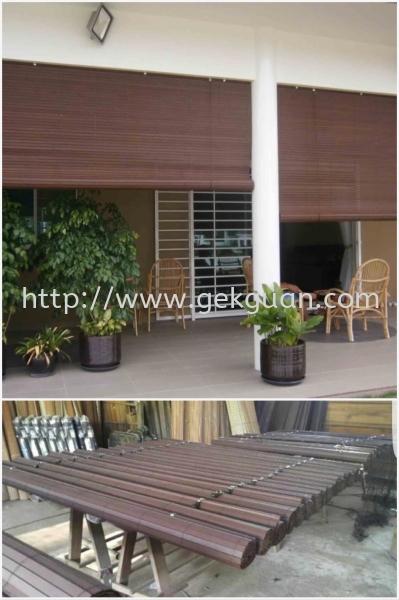 CUR 011 - Wooden Blind  Wooden blind Blind and Curtain Johor, Malaysia, Kuala Lumpur (KL), Selangor, Melaka Supplier, Manufacturer, Wholesaler, Supply | GEK GUAN RATTAN FURNITURE (M) SDN BHD