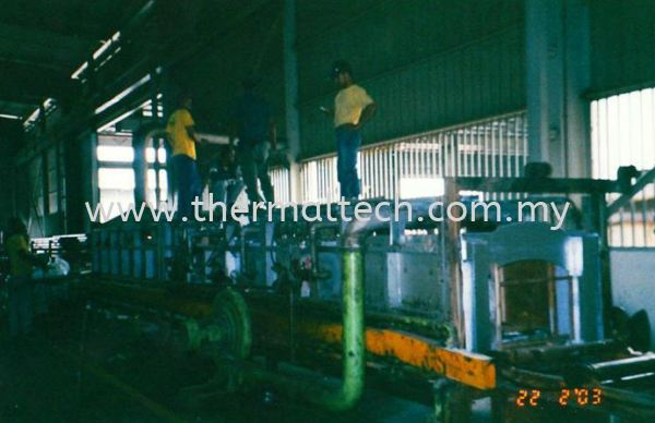 Dismantling Refractory for AISS Steel Industries Selangor, Malaysia, Kuala Lumpur (KL) Service, Supplier, Supply, Installation   Thermaltech Solutions Sdn Bhd