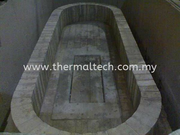 Lining of Induction Wall Copper Industries Selangor, Malaysia, Kuala Lumpur (KL) Service, Supplier, Supply, Installation   Thermaltech Solutions Sdn Bhd