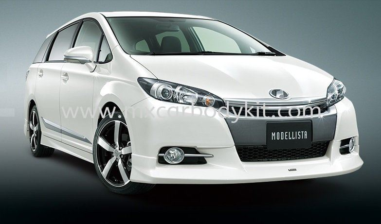 TOYOTA WISH 2012 FACELIFT MODELISTA FRONT SKIRT  WISH 2012 TOYOTA Johor, Malaysia, Johor Bahru (JB), Masai. Supplier, Suppliers, Supply, Supplies | MX Car Body Kit