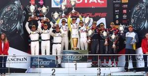 ROWE Racing Team- The Champion of Blancpain Endurance Series @ Total 24 Hours of Spa