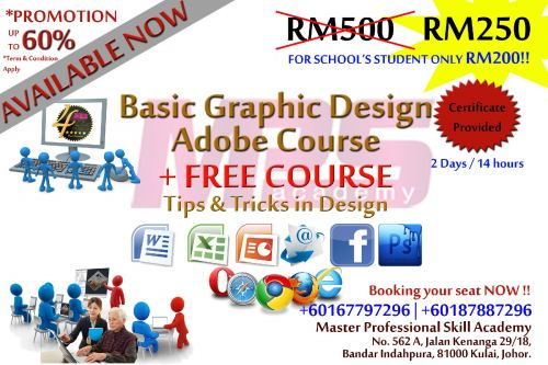 2 Days Courses | Basic in Adobe Photoshop for Graphic Design