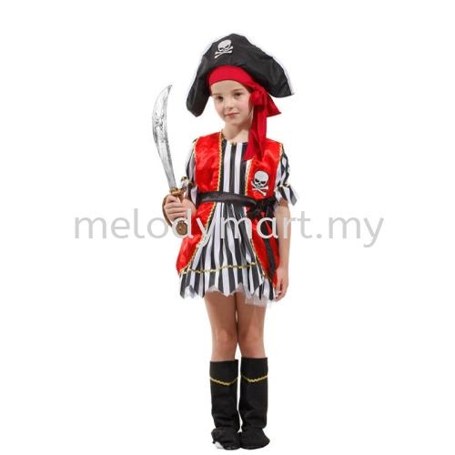 Pirate Red Vest -Kid