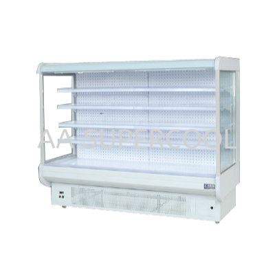 Multideck Open Chiller(Built In Style) - LFG-E Showcase Commercial Refrigerators / Refrigeration Selangor, Malaysia, Kuala Lumpur (KL), Petaling Jaya (PJ) Supplier, Suppliers, Supply, Supplies | AA Supercool Enterprise