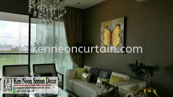 Day and Night Curtain Design  Johor Bahru (JB), Malaysia, Taman Molek Supplier, Installation, Supply, Supplies | Ken-Neon Screen Decor